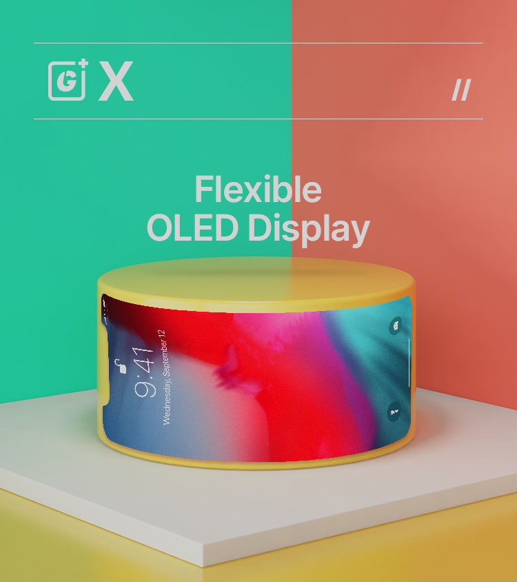 Flexiable OLED Display for iphone x